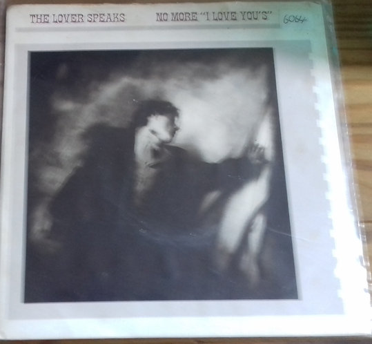 "The Lover Speaks - No More ""I Love You's"" (7"", Single, Sil) (A&M Records)"