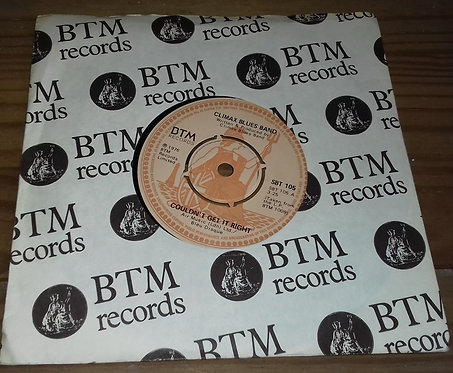 """Climax Blues Band - Couldn't Get It Right (7"""", Single) (BTM Records)"""