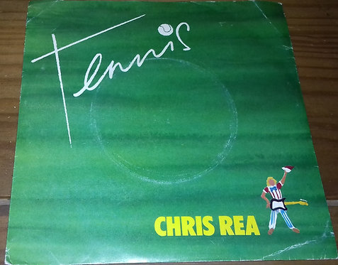 "Chris Rea - Tennis (7"", Single, Red) (Magnet (2))"