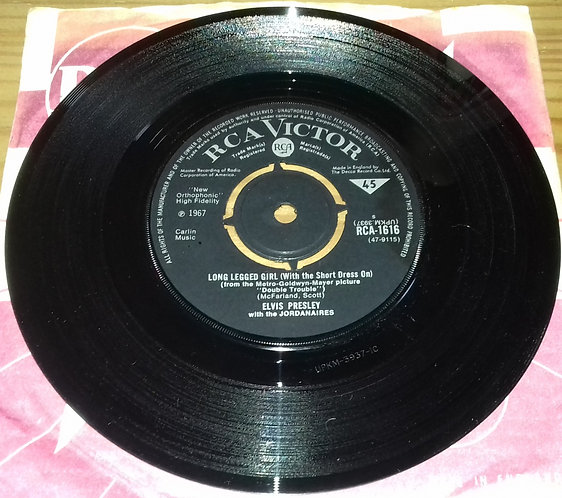 Elvis Presley With The Jordanaires - Long Legged Woman (With The Short Dress On