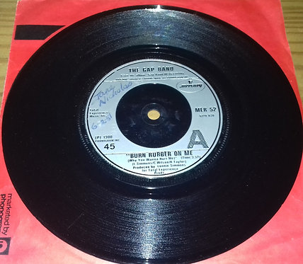 "The Gap Band - Burn Rubber On Me (Why You Wanna Hurt Me) (7"", Sil) (Mercury)"