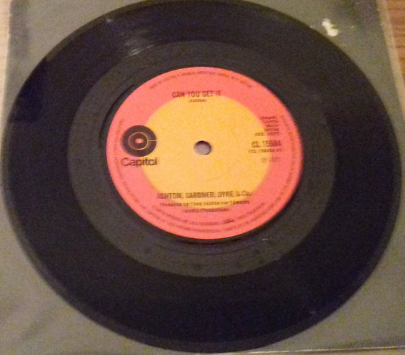 "Ashton, Gardner, Dyke & Co.* - Can You Get It (7"", Single, Sol) (Capitol Records"