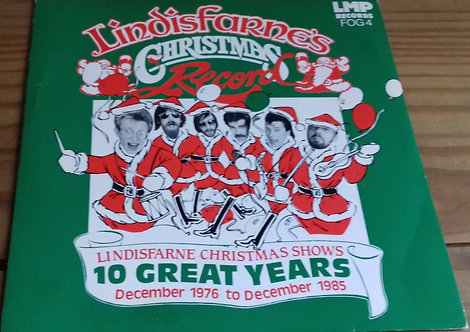 "Lindisfarne - Lindisfarne's Christmas Record (7"", EP) (LMP Records (2))"