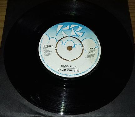 "David Christie - Saddle Up (7"", Single) (KR (2))"