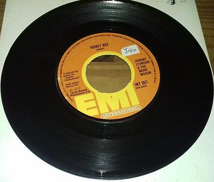 "Johnny Johnson & The Bandwagon* - Honey Bee / I Don't Know Why (7"", Single, RE,"
