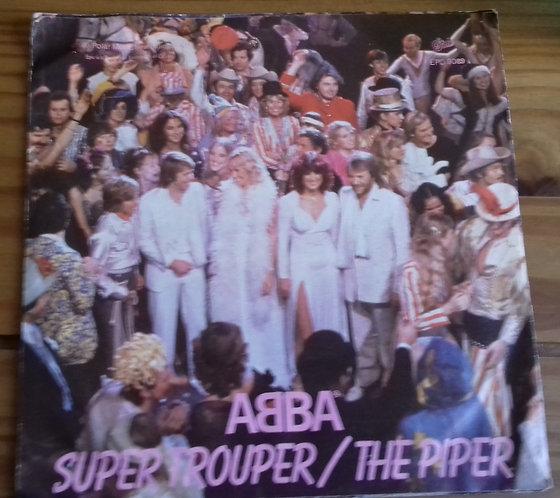 """ABBA - Super Trouper / The Piper (7"""", Single, Pap) (Epic, Epic)"""