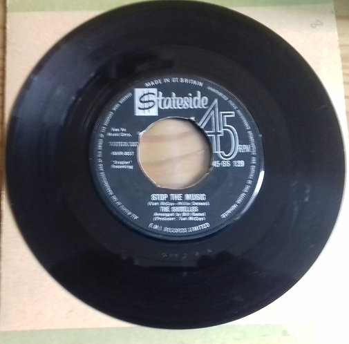 """The Shirelles - Stop The Music (7"""", Single) (Stateside)"""