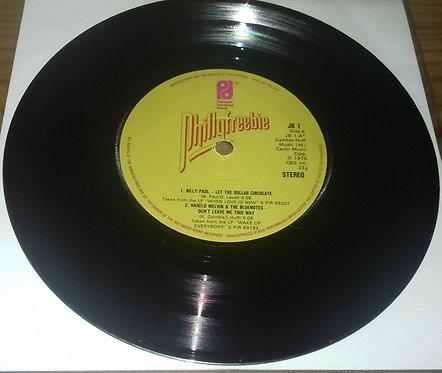 "Various - Phillyfreebie (7"", EP) (Philadelphia International Records, Philadelph"