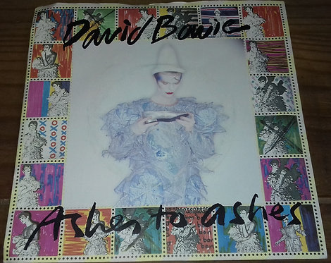 """David Bowie - Ashes To Ashes (7"""", Single, Pus) (RCA, RCA, RCA)"""