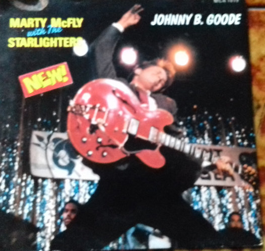 """Marty McFly With The Starlighters – Johnny B. Goode 7"""" Single Back 2 The Future"""