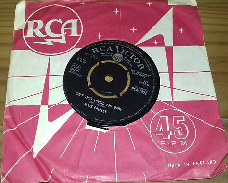 """Elvis Presley With The Jordanaires - Ain't That Loving You Baby (7"""", Single, 4-P"""