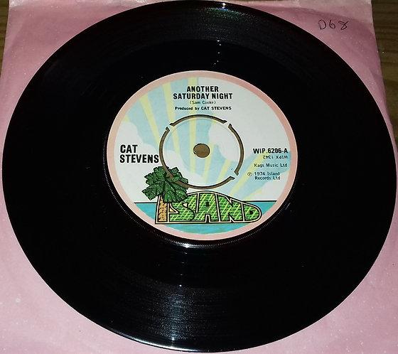 "Cat Stevens - Another Saturday Night (7"", Single) (Island Records, Island Recor"
