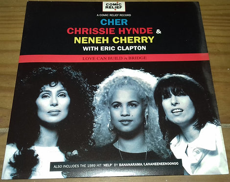 Cher, Chrissie Hynde & Neneh Cherry With Eric Clapton - Love Can Build A Bridge