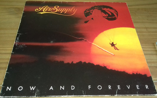 Air Supply - Now And Forever (LP, Album) (Arista, Big Time Phonograph Recording