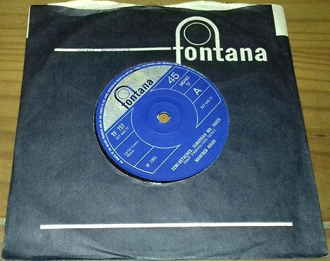 """Manfred Mann - Semi-Detached, Suburban Mr. James (7"""", Single, Mono, Sol) (Fontan"""