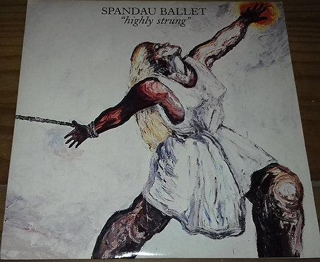 """Spandau Ballet - Highly Strung (7"""", Single, Blu) (Chrysalis)"""