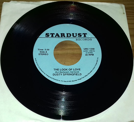 "Dusty Springfield - The Look Of Love (7"", Single, RE) (Stardust Records)"