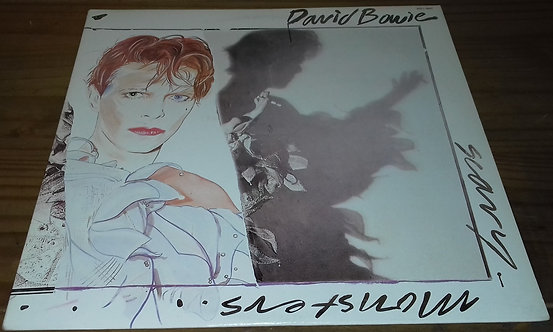 David Bowie - Scary Monsters (LP, Album) (RCA Victor)