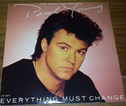 """Paul Young - Everything Must Change (2x7"""", Single, Ltd) (CBS)"""