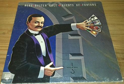 Blue Öyster Cult - Agents Of Fortune (LP, Album, Gat) (Columbia)