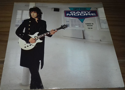 """Gary Moore - Empty Rooms (Summer 1985 Version) (7"""", Single) (10 Records)"""