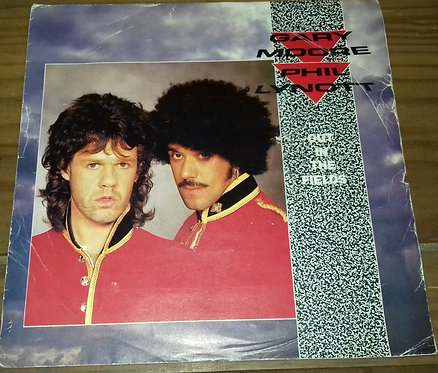 """Gary Moore & Phil Lynott - Out In The Fields (7"""", Single) (10 Records)"""