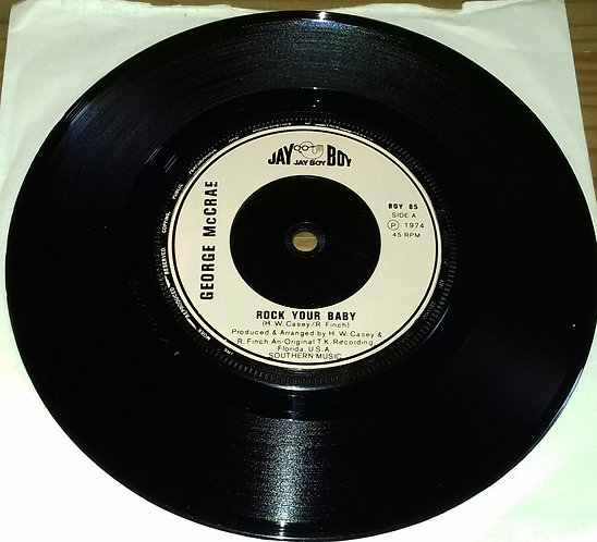 "George McCrae - Rock Your Baby (7"", Single, Inj) (Jay Boy)"