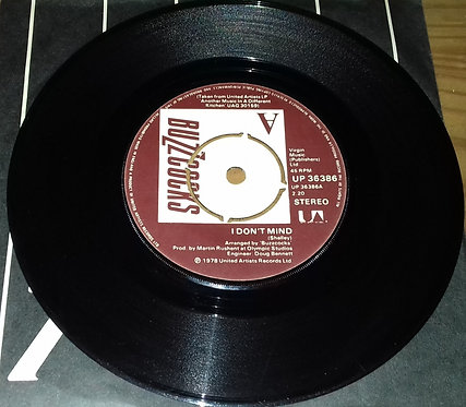 "Buzzcocks - I Don't Mind / Autonomy (7"", Single) (United Artists Records)"