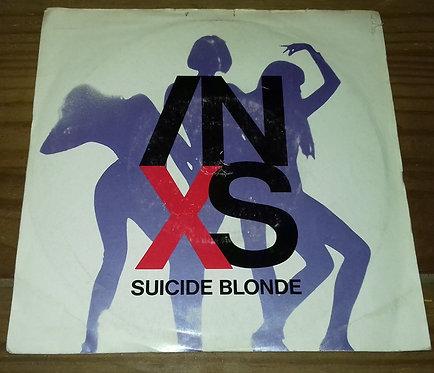 """INXS - Suicide Blonde (7"""", Single, Sil) (Mercury, Mercury)"""