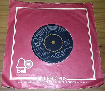 """The Box Tops* - You Keep Tightening Up On Me (7"""", Single) (Bell Records)"""