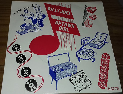 "Billy Joel - Uptown Girl (7"", Single, Pap) (CBS, Family Productions)"