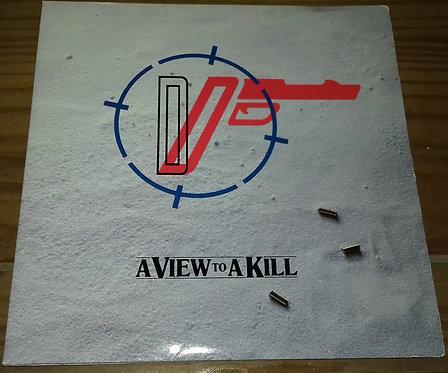 """Duran Duran - A View To A Kill (7"""", Single, Gat) (Parlophone, MGM/UA Entertainme"""