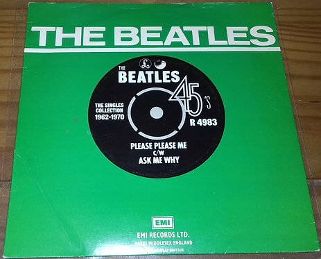 "The Beatles - Please Please Me c/w Ask Me Why (7"", Single, RE) (Parlophone, Appl"