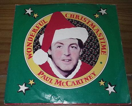 "Paul McCartney - Wonderful Christmastime (7"", Single, Mono) (Columbia, MPL (2))"