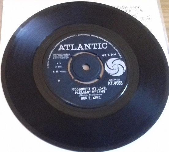 "Ben E. King - Goodnight My Love, Pleasant Dreams (7"", Single) (Atlantic)"