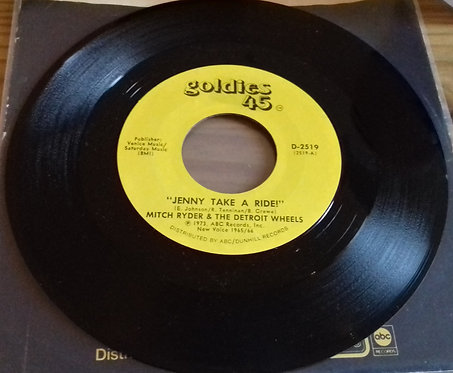 "Mitch Ryder And The Detroit Wheels* - Jenny Take A Ride! (7"", Single, Styrene)"