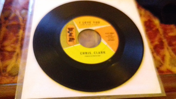 "Chris Clark  - I Want To Go Back There Again (7"", Single, Mon) (V.I.P.)"