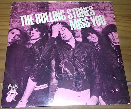 """The Rolling Stones - Miss You (7"""", Single) (Rolling Stones Records)"""