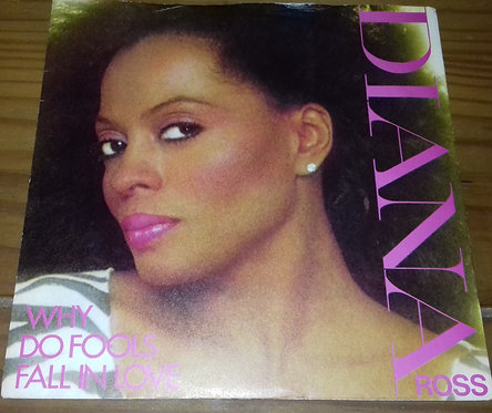 """Diana Ross - Why Do Fools Fall In Love (7"""", Single, Pus) (Capitol Records)"""