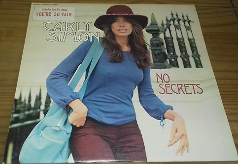 Carly Simon - No Secrets (LP, Album) (Elektra, Elektra)