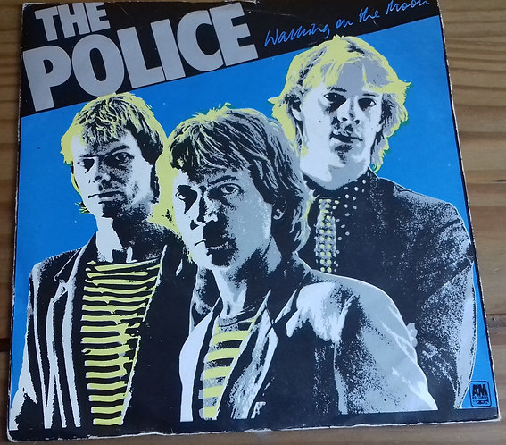 """The Police - Walking On The Moon (7"""", Single, Alt) (A&M Records)"""