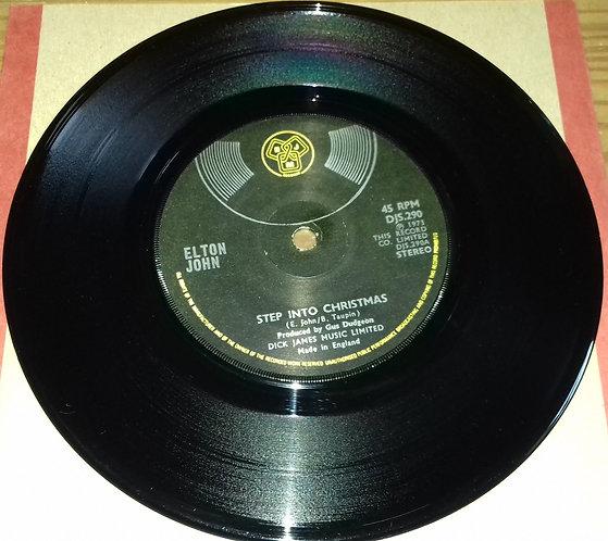 "Elton John - Step Into Christmas (7"", Single, Sol) (DJM Records (2))"