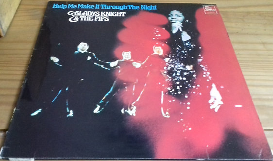 Gladys Knight And The Pips - Help Me Make It Through The Night (LP, Comp) (Tamla
