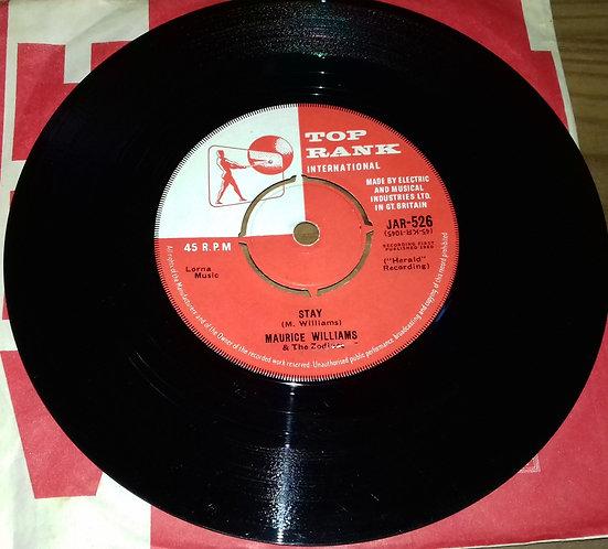"Maurice Williams & The Zodiacs - Stay (7"", Single) (Top Rank International)"