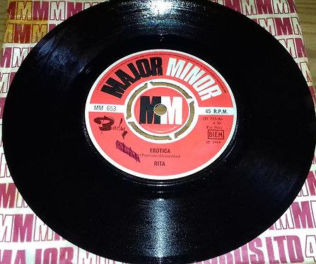 "Rita - Erotica (7"", Single) (Major Minor)"