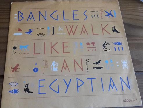 """Bangles - Walk Like An Egyptian (7"""", Single) (CBS, CBS)"""