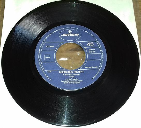 "10cc - Dreadlock Holiday (7"", Single) (Mercury)"