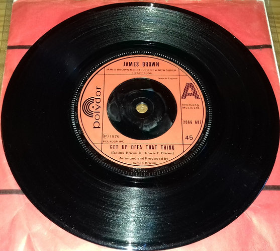 """James Brown - Get Up Offa That Thing (7"""", Single) (Polydor)"""