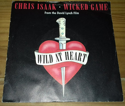 """Chris Isaak - Wicked Game (7"""", Single) (London Records, London Records)"""