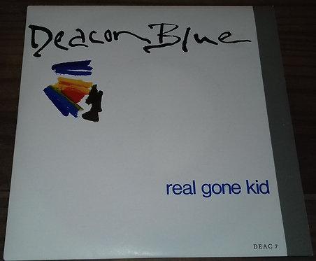 """Deacon Blue - Real Gone Kid (7"""", Single) (CBS)"""